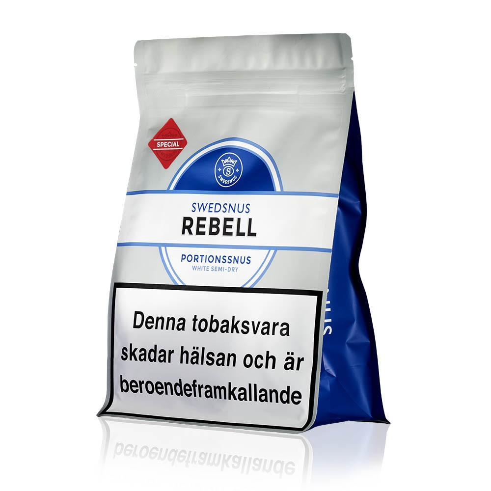 Rebell Special 300 Portionssnus  Påse